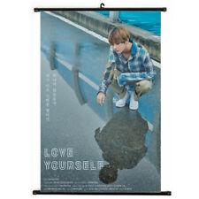 Kpop Bangtan Boys V Hanging Painting Art Painting Wall Scroll Poster