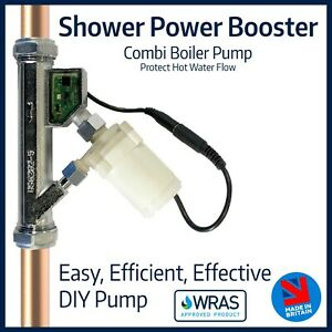 Shower Power Booster Pump | Combination Boiler Solution | Boost & Protect Flow