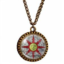 Dark Souls Solaire of Astora Sun Necklace Pendant Jewelry Sunlight Shield