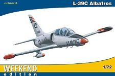 EDUARD MODELS 1/72 L39C Aircraft (Wkd Edition Plastic Kit) EDU7418
