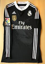 Adidas Real Madrid 14/15 Third Jersey Match Player Issue Adizero Size 8