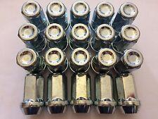 20 x M14X1.5 lungo Affusolato Estremità Chiuse DADI CERCHI IN LEGA ADATTA PER CADILAC ATS CTS