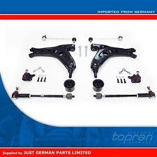 VW Polo 9N [2001-2009] Complete Lower Steering Control Arm Wishbone & Links Kit