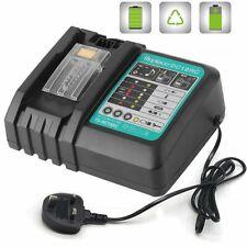 Rapid Charger for Makita BL1860 BL1830 1815 1840 1430 Battery 14.4V-18V UK Plug