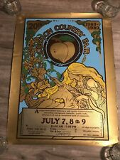 Oregon Country Fair 20th anniversary Poster 1989 Rare #155/ 1000 Signed
