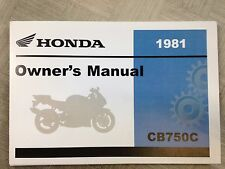 Honda cb750 owners manual in engines engine parts ebay 1981 honda cb750 cb 750 custom owners manual new factory dealership 81 publicscrutiny Gallery