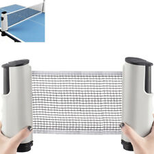 Portable + Retractable Table Tennis Net Ping Pong Replacement Net Rack