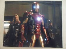 "Chris Evans Robert Downey Jr. Signed -Autographed Photo ""Infinity"""