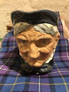 Royal Doulton China - Large Character Jug - Toothless Granny - Unusual!