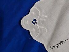 Vintage linen Elegant Hand Made Embroidery Table Napkins Set 12 Pcs Handmade