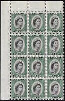 GRENADA 1 CENT 1953-59 SC# 172 (MNH OG) *CORNER BLOCK OF 12*