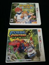 2 Lot of (Nintendo 3DS) Harvest M Hometown Story and Fossil Fighters Frontier
