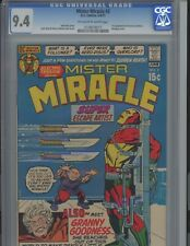 Mister Miracle #2. 9.4. OW to WP  DC. CGC JACK KIRBY 4th World brilliance