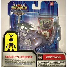 Bandai Digimon Digi Fusion Greymon Action Figure Brand New