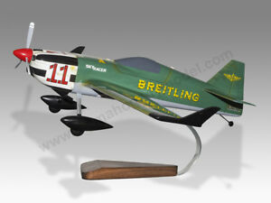 MXR Technologies MXS-R Breitling N540XS Solid Dry Wood Airplane Desktop Model 2