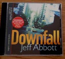 AUDIO BOOK: Jeff Abbott - DOWNFALL read by Kevin T Collins on 1 x CD
