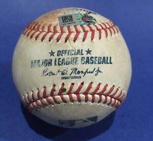 BLUE JAYS ORIOLES GAME USED BASEBALL YAMAGUCHI NUNEZ AUGUST18 2020 MLB HOLO