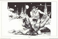 SPACE HEROES PRINT 5 w UNPUBLISHED ARTWORK by Al Williamson & Frank Frazetta