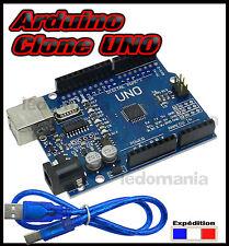 DCC1# clone arduino UNO DCCduino  + câble USB  expédition France
