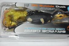 "savage gear bass topwater 3d suicide duck floating wood duckling 4 1/4"" 1oz"