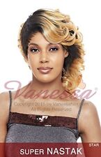 VANESSA SYNTHETIC MEDIUM MOHAWK STYLE CURLY TAILED WIG - SUPER NASTAK