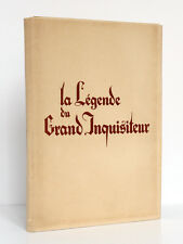 La Légende du Grand Inquisiteur DOSTOIEVSKI. Illustra…KOLNIK 1946 Ex. numéroté