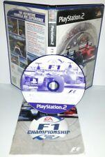 F1 CHAMPIONSHIP FORMULA 1 - Playstation 2 Ps2 Play Station Gioco Bambini Game