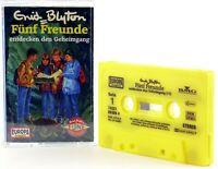 Fünf Freunde 33 entdecken den Geheimgang gelb Hörspiel MC Europa logo Kassette