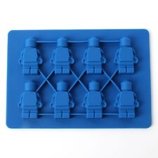 Robot Figure Cake Cupcake Icecube Fondant Chocolate Jelly Sweet Mould