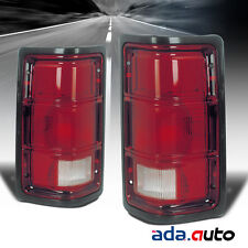 1988-1996 Dodge Dakota/Ram Pickup Left Right Side Tail Lights Rear Lamps Pair