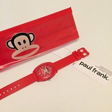 Paul Frank Watch Red Pop Watch Unisex 15-21cm Red Wristwatch Analogue
