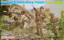Dragon tropas alemanas Brandenburgo-Batalla de Leros 1943-Fuerzas especiales-Nuevo