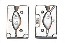 Fish Head Jig Fishing Lure lead Mold 28g (0.99oz) VMC Jig Hooks 5150 size 4/0