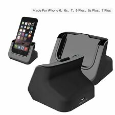 Sync Data USB Charger Dock Stand Station Cradle For iPhone 7 7 Plus 6 6S Plus