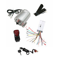 1800W 48V E-Bike Brushless Electric Motor Speed Controller Pedal Go Kart Scooter