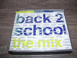 Back 2 School The Mix * HARDCORE / HARDSTYLE 2 CD BOX HOLLAND 2001 *
