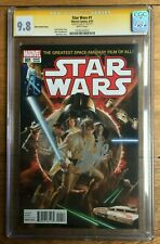 Star Wars #1 Alex Ross Variant CGC SS 9.8 Signed by Stan Lee