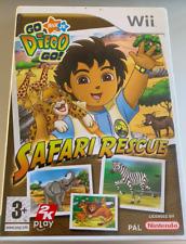 Go Diego Go Safari Rescue (Nintendo Wii) PEGI 3+ Tested