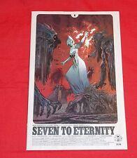 SEVEN TO ETERNITY # 6B JAMES HARREN VARIANT COVER IMAGE COMICS REMENDER OPENA