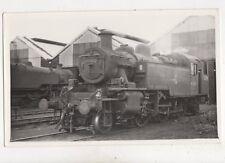 Locomotive 41325 Repro Railway Photo Card 402b