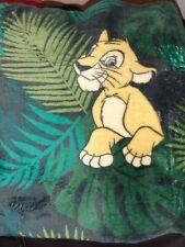 LION KING DISNEY THROW BLANKET PRIMARK FREE RM POSTAGE SAME DAY DISPATCH AVAIL