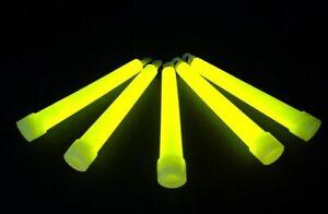 10 Stück Power-Knicklicht Gelb