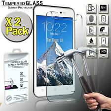 2 Pack Tempered Glass Screen Protector Cover For Verykool Lotus II S5005