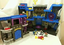 Lot Imaginext Super Friends Batcave Gotham City Jail Figures Batman Robin