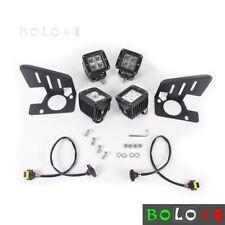 PMMA Lens CREE LED Lamps Fog Light Kit For Chevrolet Silverado 2500 3500 2008-14