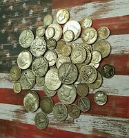 1/2 OZ. 90% OLD SILVER USA COINS - MIXED LOT