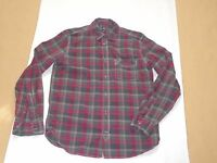 Men's Gap Long Sleeve Plaid Cotton Shirt Size Small