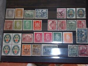 Deutsches Reich , deutschland , Sammlungsauflösung  kl. Lot Briefmarken   # 539
