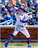 "Brandon Nimmo New York Mets Autographed 16"" x 20"" Hitting Photograph"