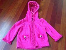 Gymboree Ice Cream Sweetie Girls Size 12-24 month Pink Zip Up Hoodie/Sweatshirt